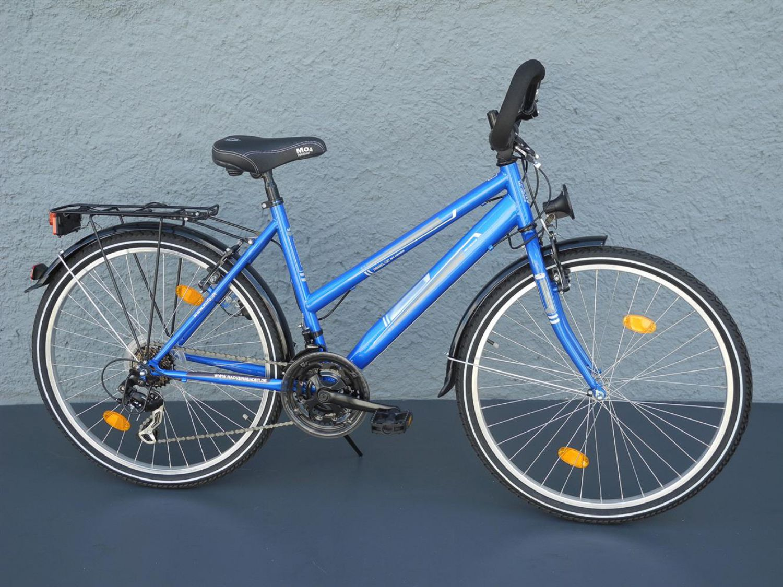 26 zoll damen trekking bike fahrrad shimano 18 gang. Black Bedroom Furniture Sets. Home Design Ideas