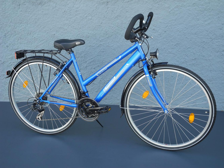 28 zoll damen trekking bike fahrrad shimano 18 gang. Black Bedroom Furniture Sets. Home Design Ideas