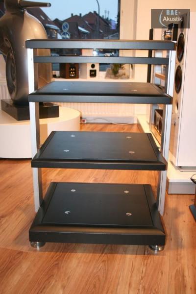 finite elemente pagode signature hifi rack inkl cerabase classic ebay. Black Bedroom Furniture Sets. Home Design Ideas