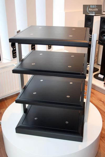 finite elemente pagode signature hifi rack sg06 85 cm schwarz ebay. Black Bedroom Furniture Sets. Home Design Ideas