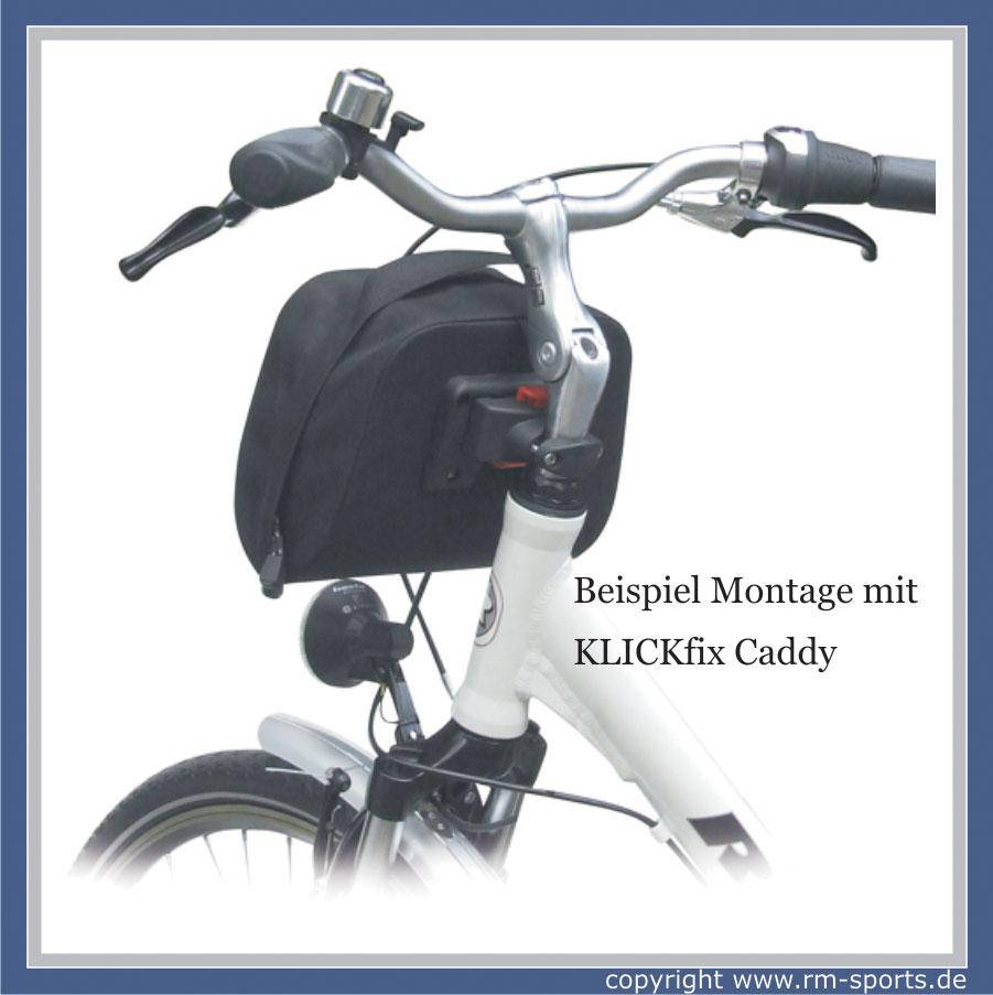 rixen kaul klickfix fahrrad lenkertasche baggy 5 liter ebay. Black Bedroom Furniture Sets. Home Design Ideas