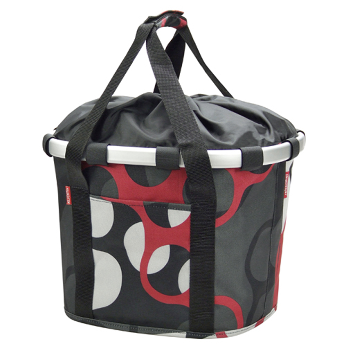 klickfix fahrrad lenkertasche reisenthel bikebasket rings mit adapter ebay. Black Bedroom Furniture Sets. Home Design Ideas