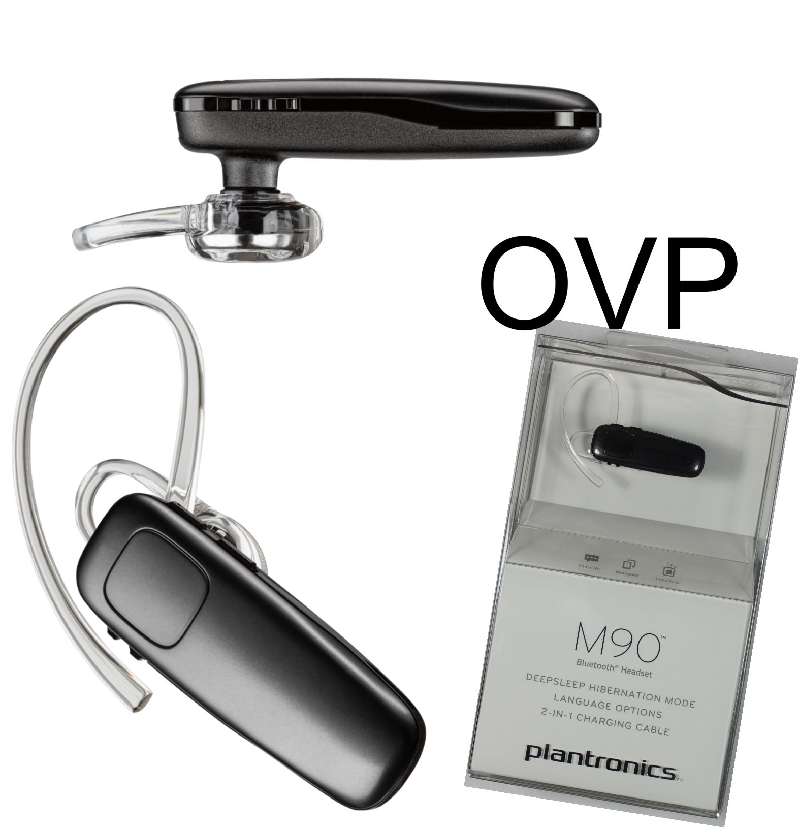 original plantronics bluetooth headset m90 xperia z1 z2 z3 z4 iphone 4s 5 5s s6 ebay. Black Bedroom Furniture Sets. Home Design Ideas