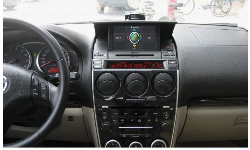 mazda 6 oem touchscreen multimedia interface navigation. Black Bedroom Furniture Sets. Home Design Ideas