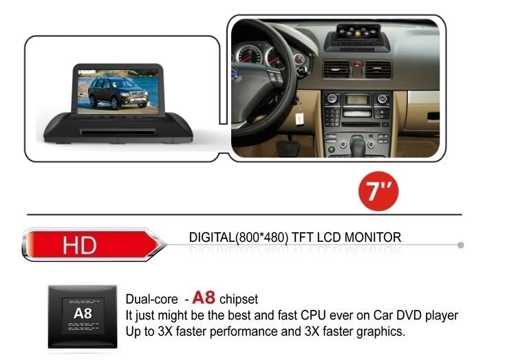 volvo xc90 oem touchscreen car radio navigation gps bluetooth. Black Bedroom Furniture Sets. Home Design Ideas