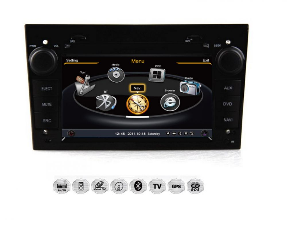 vauxhall opel zafira corsa astra meriva autoradio navigation gps dvd sd antrazit ebay. Black Bedroom Furniture Sets. Home Design Ideas