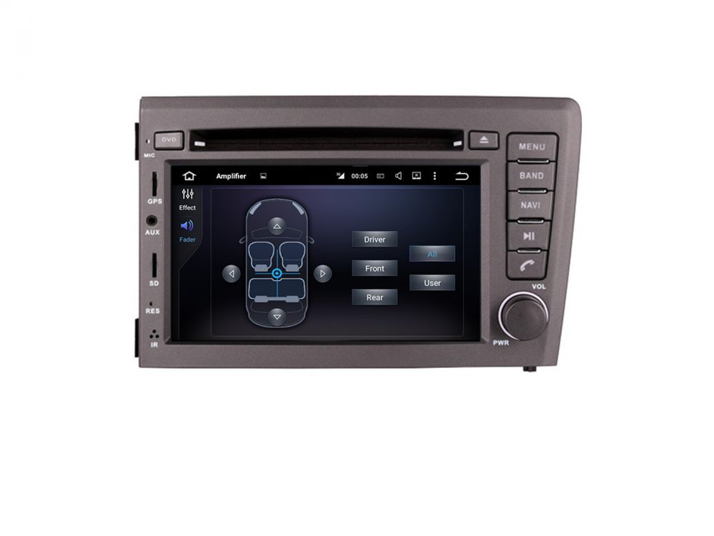 volvo v60 v70 xc70 2din android autoradio navi touchscreen. Black Bedroom Furniture Sets. Home Design Ideas