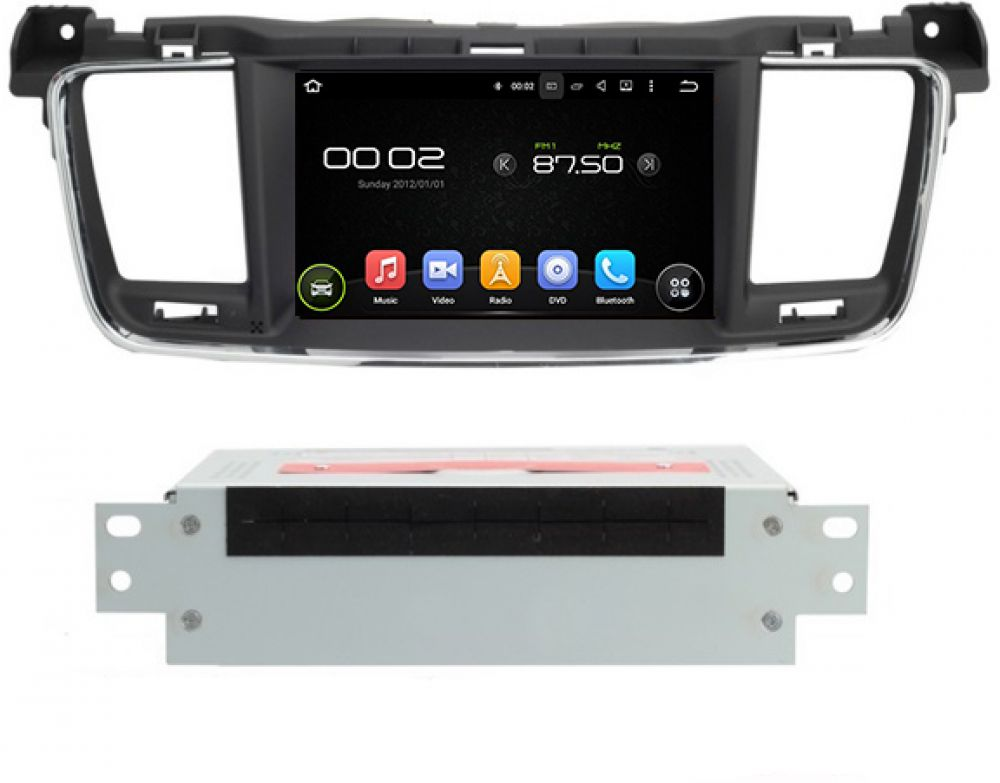 peugeot 508 android autoradio gps navi 7 touchscreen dvd. Black Bedroom Furniture Sets. Home Design Ideas