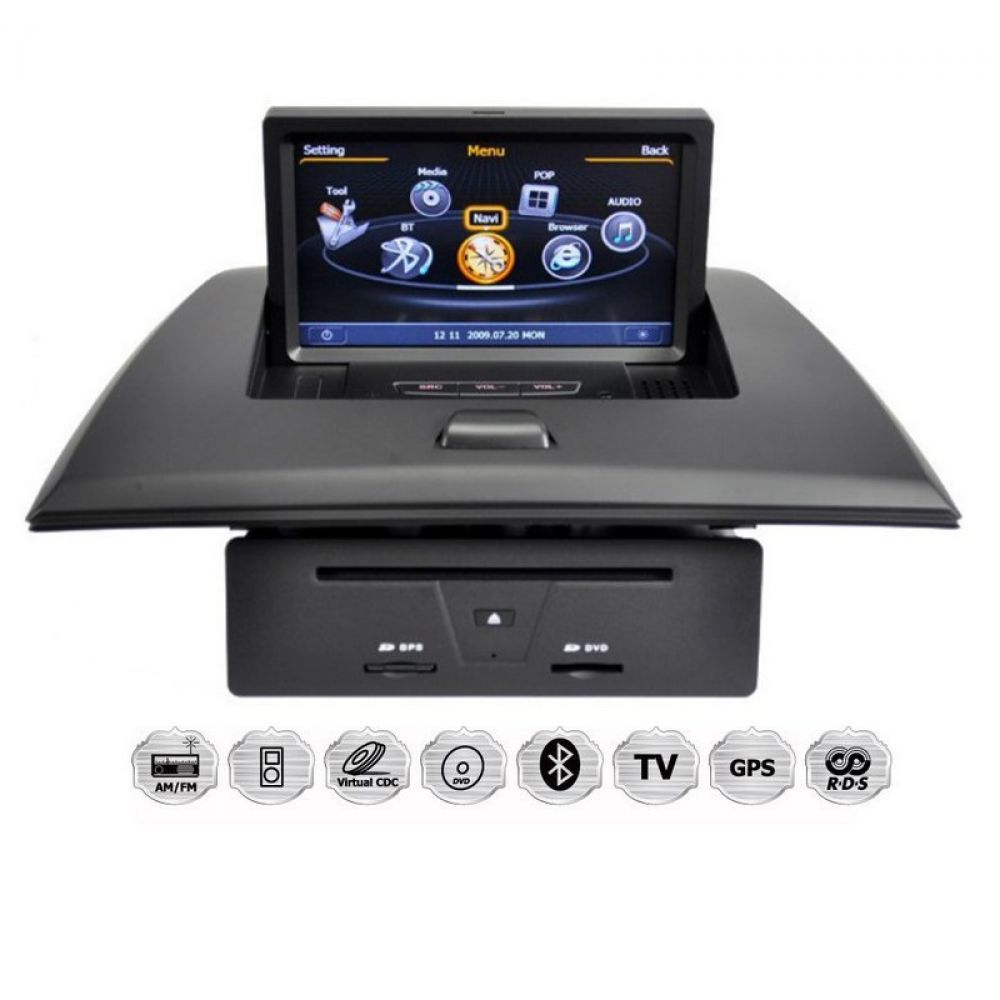 bmw x3 e83 autoradio gps navigationssystem touchscreen dvd bluetooth usb wifi sd ebay. Black Bedroom Furniture Sets. Home Design Ideas