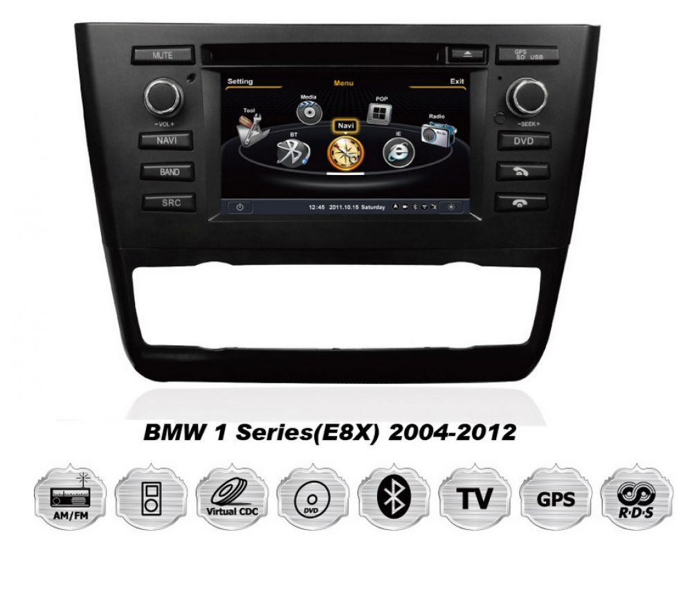 bmw e81 e82 e87 e88 android car radio navigation gps dvd. Black Bedroom Furniture Sets. Home Design Ideas