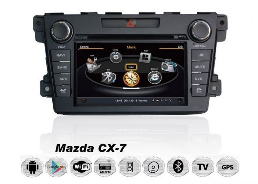 mazda cx 7 android touchscreen autoradio 3d navi gps dvd. Black Bedroom Furniture Sets. Home Design Ideas