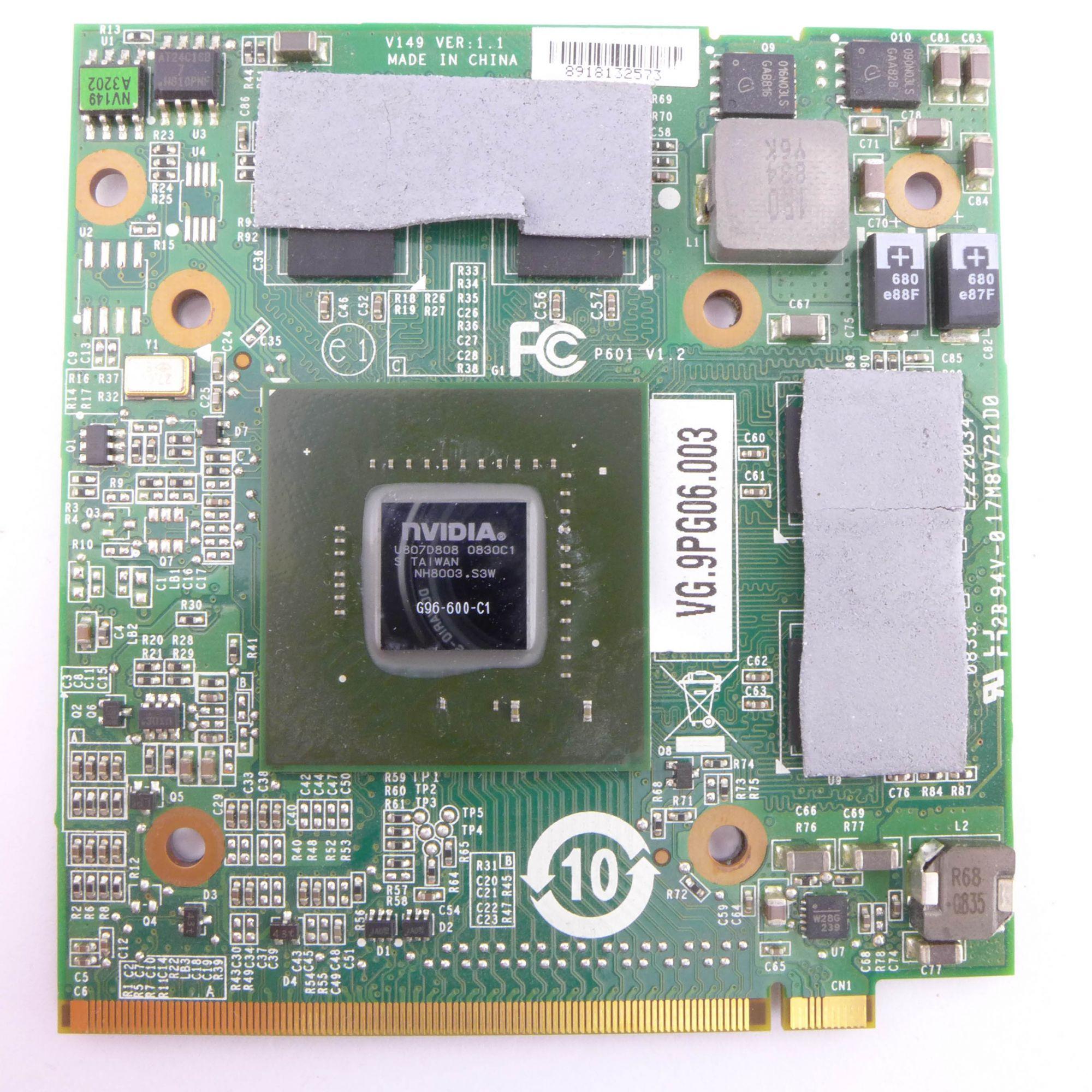 Acer Aspire 6930 Graphic Card VG.9PG06.003 GPU