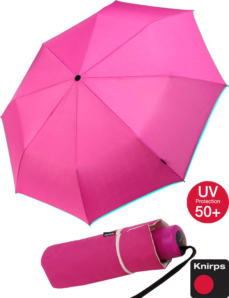 knirps piccolo regenschirm mini taschenschirm sonnenschirm klein leicht pink ebay. Black Bedroom Furniture Sets. Home Design Ideas