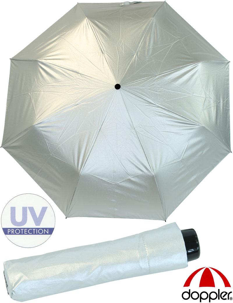 doppler regenschirm taschenschirm mini sonnenschirm damen uv schutz starlight ebay. Black Bedroom Furniture Sets. Home Design Ideas