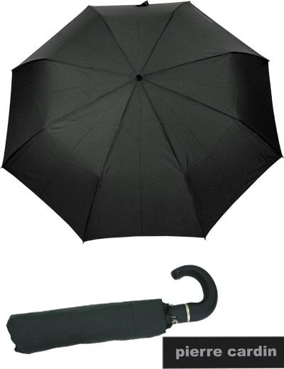 Pierre-Cardin-Herren-Schirm-Primeur-Easymatic-Regenschirm-Auf-Zu-Automatik