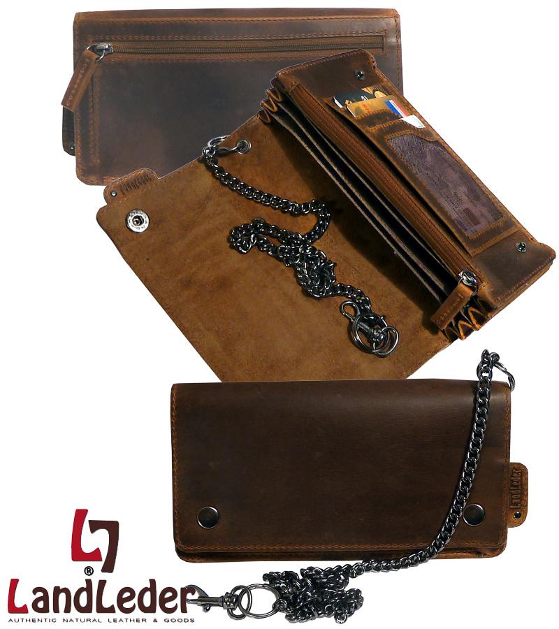 biker wallet kettenb rse 5 tlg brieftasche mit kette. Black Bedroom Furniture Sets. Home Design Ideas