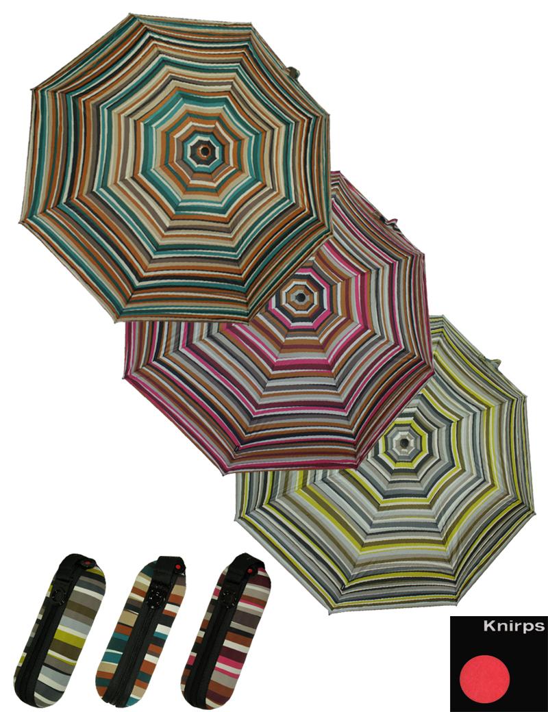 knirps supermini schirm taschenschirm regenschirm x1 stripes ebay. Black Bedroom Furniture Sets. Home Design Ideas