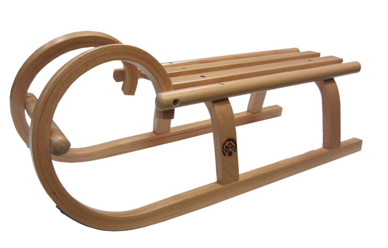 teubner handgemachter h rnerschlitten 60 cm rodel holz buche aus dem erzgebirge ebay. Black Bedroom Furniture Sets. Home Design Ideas