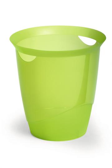 DURABLE-Papierkorb-TREND-16-Liter-Abfalleimer-1701710-Muelleimer-vers-Farben
