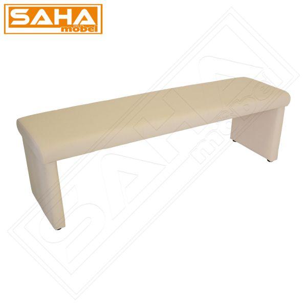 bank 140 160 180 elfenbein bank tisch sitz sitzbank eckbank esszimmer ebay. Black Bedroom Furniture Sets. Home Design Ideas