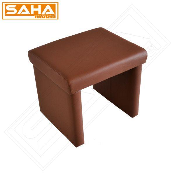 hocker braun bank tisch sitz sitzbank eckbank esszimmer. Black Bedroom Furniture Sets. Home Design Ideas
