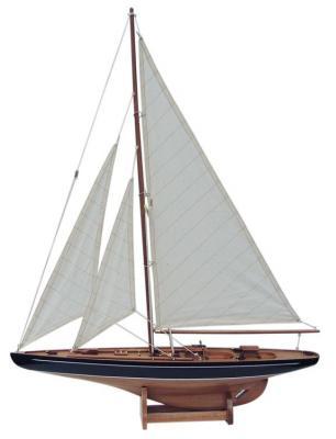 Segelboot Segelschiff Modell Segel Yacht Holz Maritim
