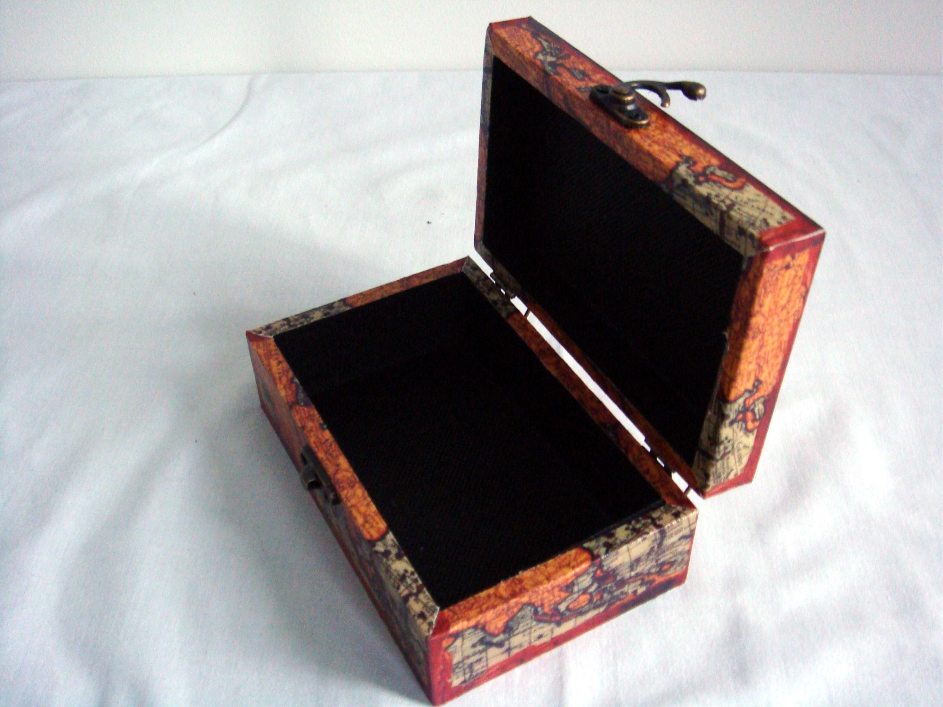 4 stk schatulle leinwanddruck truhe kiste aufbewahrung ebay. Black Bedroom Furniture Sets. Home Design Ideas