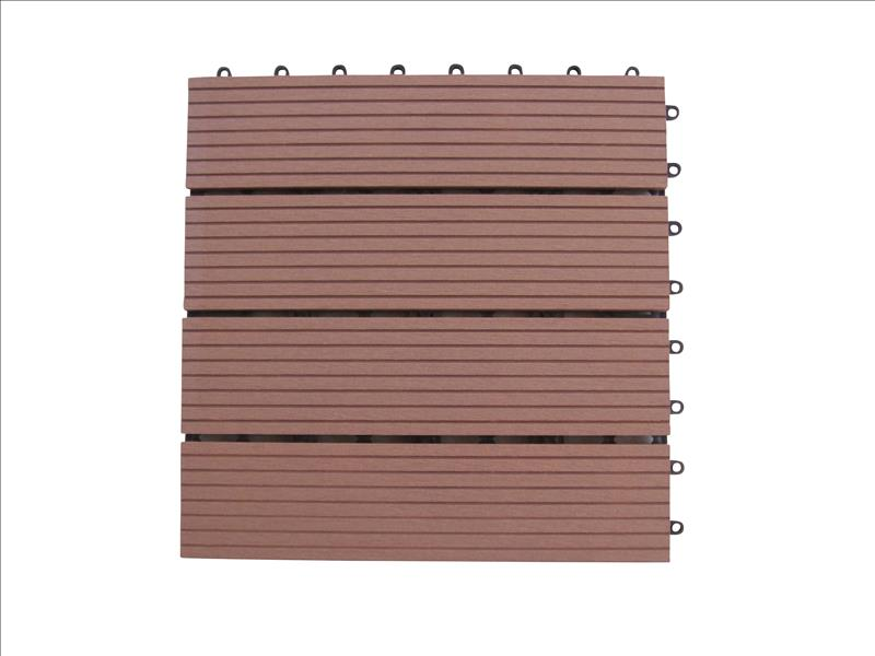 wpc holz fliese 30x30cm 1 m 11 fliesen saunabelag. Black Bedroom Furniture Sets. Home Design Ideas