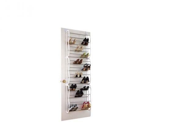 t r schuhregal 36 paar t rregal t rh ngeregal schuhregal schuhschrank schuhregal ebay. Black Bedroom Furniture Sets. Home Design Ideas