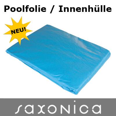 Poolfolie innenh lle rundpool 450 x 120 cm 0 6 mm blau for Poolfolie 460 x 120