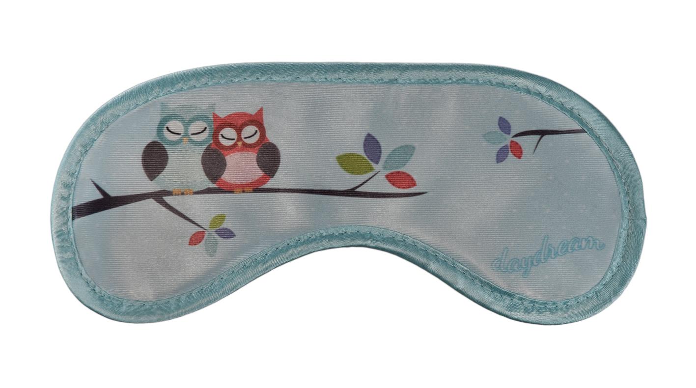 schlafmaske mit k hlkissen eule schlafbrille augenmaske augenbinde schlafmasken ebay. Black Bedroom Furniture Sets. Home Design Ideas