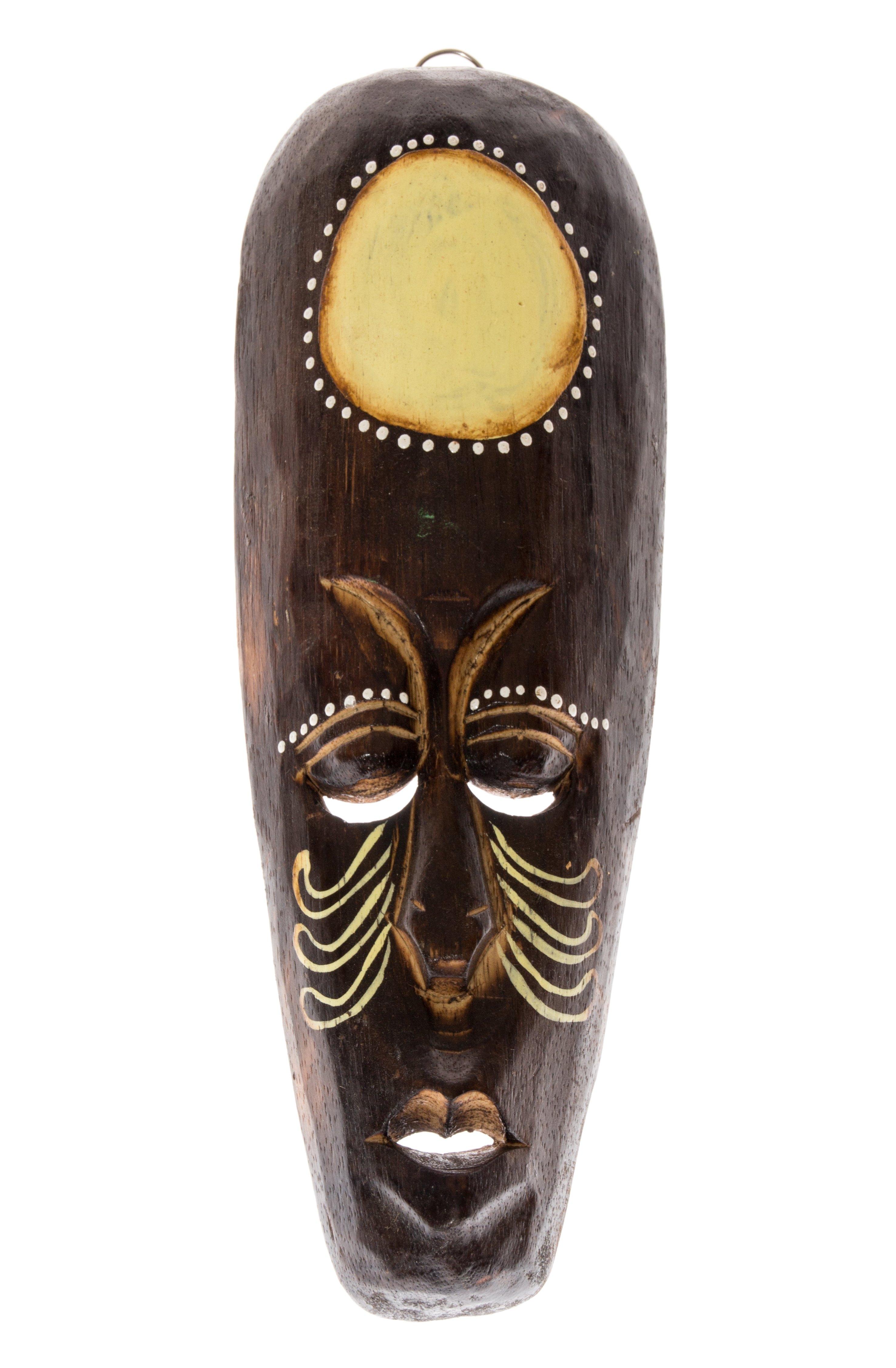 30cm holz maske holzmaske wandbehang skulptur bali afrika art deko hm3000022. Black Bedroom Furniture Sets. Home Design Ideas