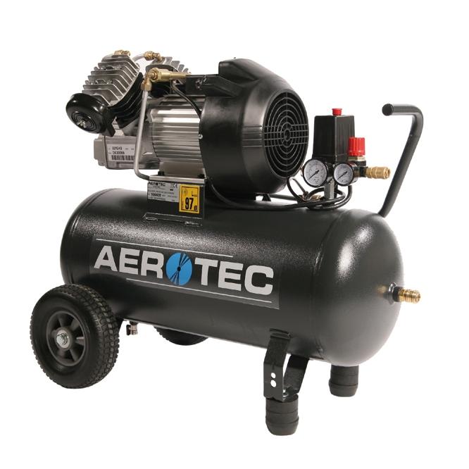 aerotec 400 50 230 volt kompressor druckluft. Black Bedroom Furniture Sets. Home Design Ideas