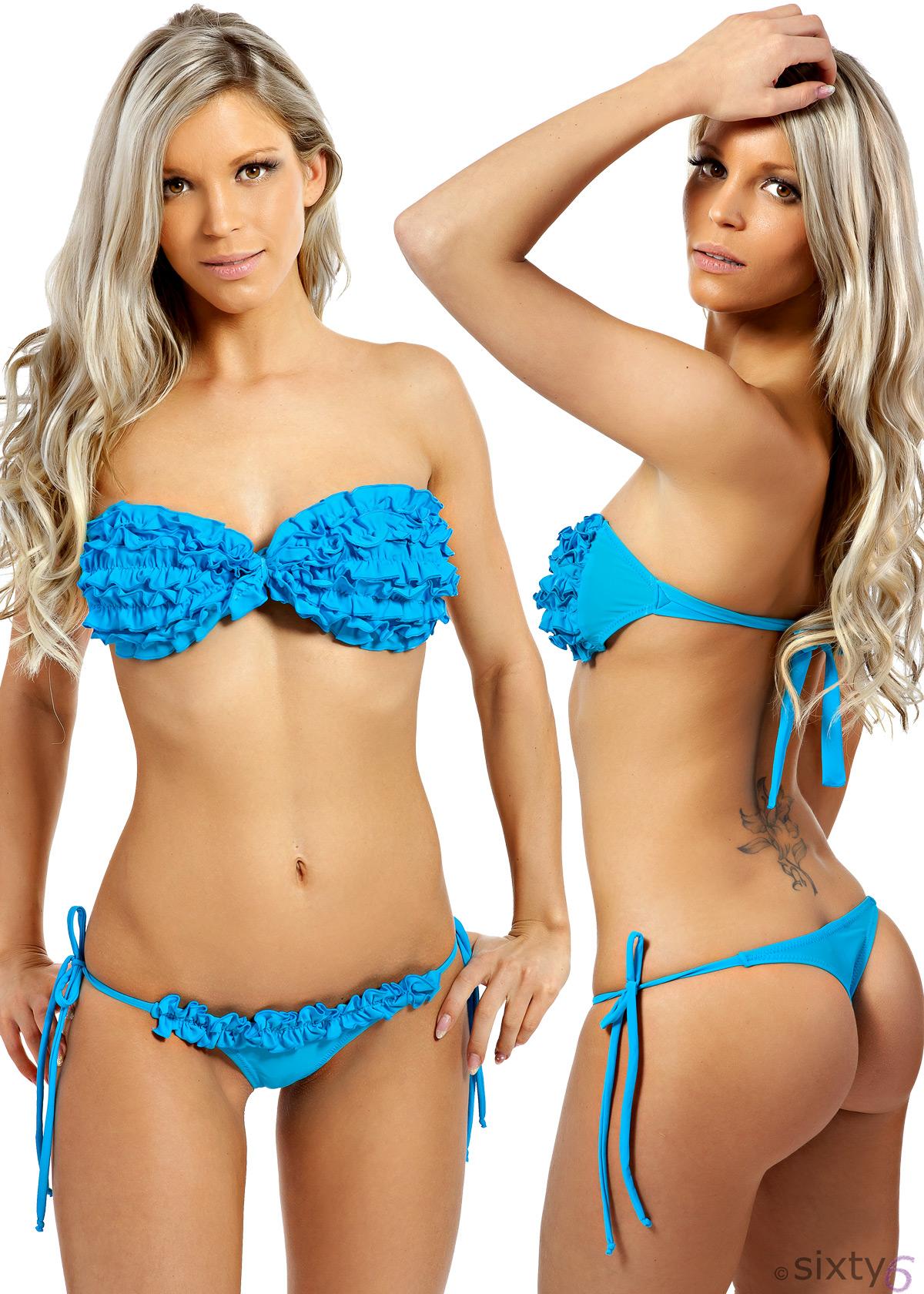 sexy sixty6 r schen bikini mit string tanga hot u sweet. Black Bedroom Furniture Sets. Home Design Ideas