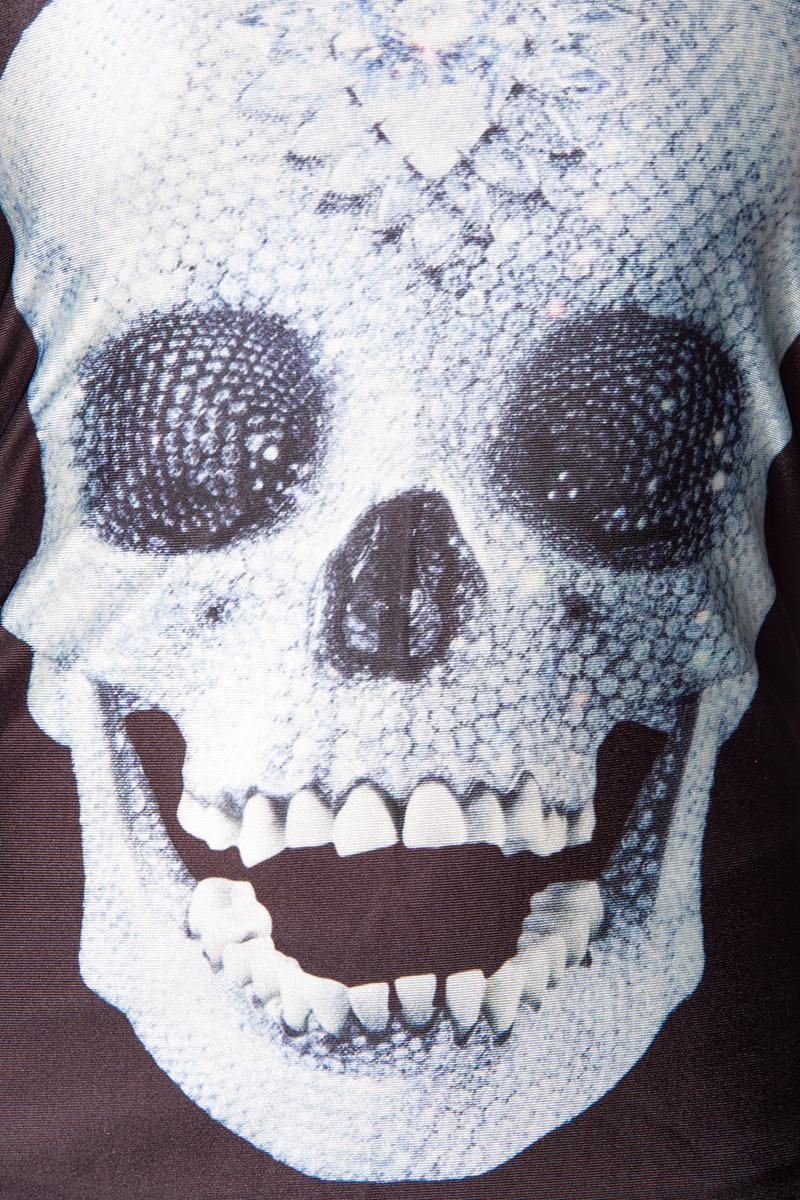 totenkopf top skull damen tank top t shirt diamond. Black Bedroom Furniture Sets. Home Design Ideas