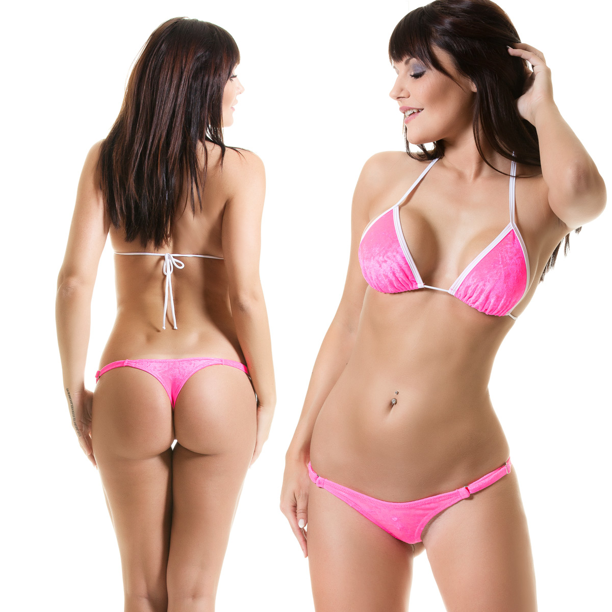 Womens Swimwear G String Swimsuit Bottoms by SKINZ