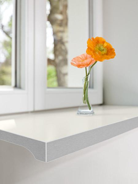werzalit exclusiv 34 tiefe 250 mm marmor hell fensterbank fensterbrett innen ebay. Black Bedroom Furniture Sets. Home Design Ideas