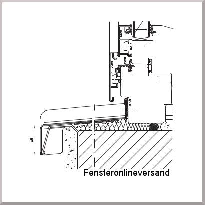 fensterbank aluminium tiefe 260 mm blank au en fensterbrett. Black Bedroom Furniture Sets. Home Design Ideas
