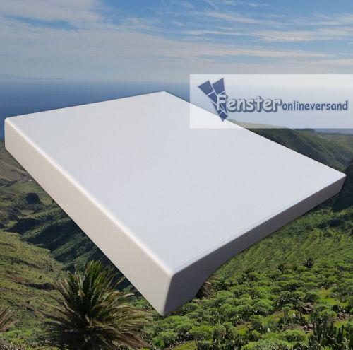 Werzalit Exclusiv 34 Tiefe 250 mm Weiß Fensterbank Fensterbrett ...
