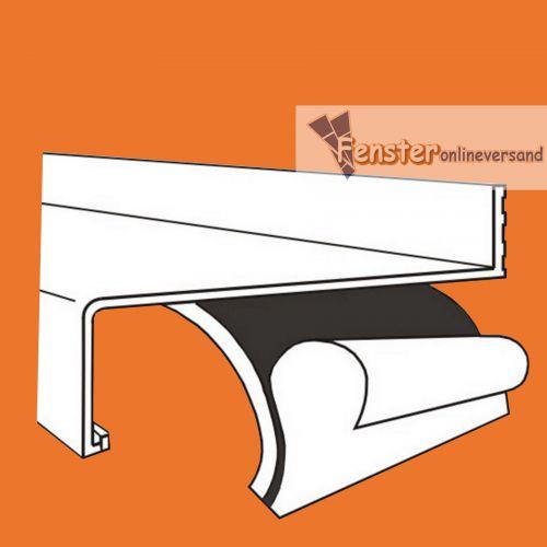 antidr hnband antidr hnmatte antidr hnstreifen f r aluminium fensterbank ebay. Black Bedroom Furniture Sets. Home Design Ideas