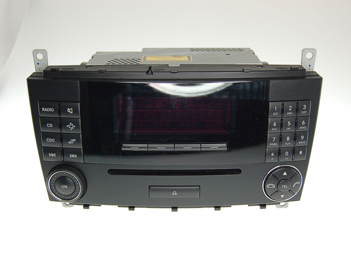 autoradio audio 20 ntg2 w203 c klasse mercedes benz ebay. Black Bedroom Furniture Sets. Home Design Ideas