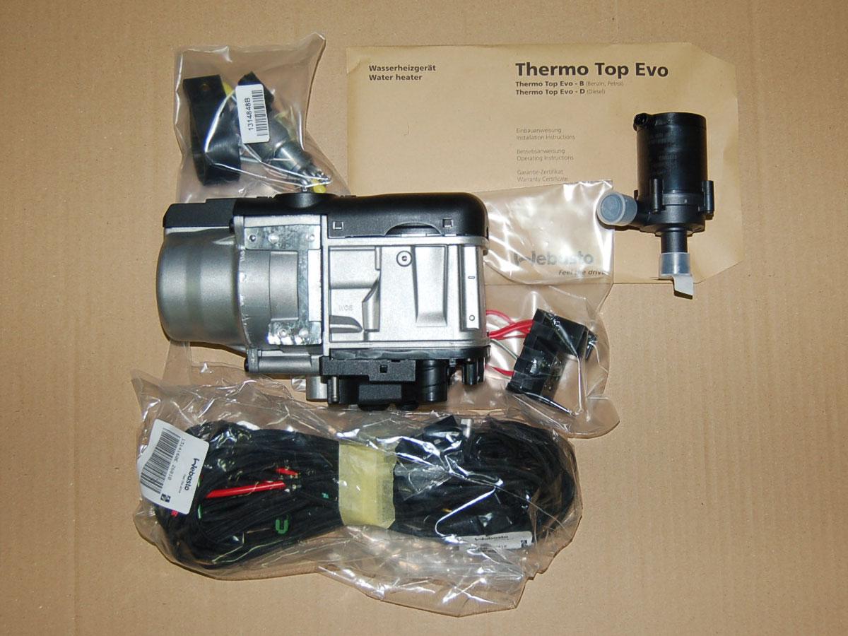 webasto thermo top evo 4 diesel base pre selection timer. Black Bedroom Furniture Sets. Home Design Ideas