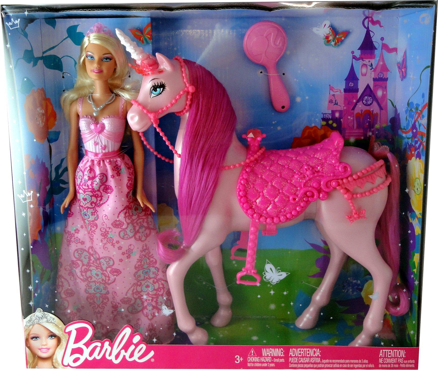 einhorn barbie