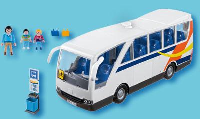 itm  bus scolaire de playmobil City Life NEUF