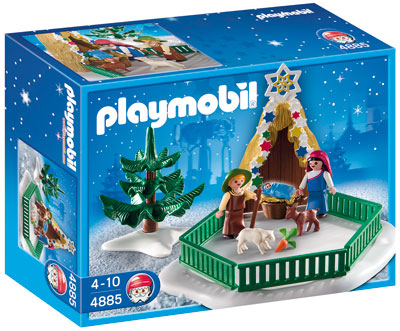 4885 krippenspiel von playmobil weihnachten neu ebay. Black Bedroom Furniture Sets. Home Design Ideas
