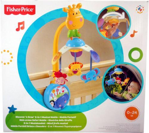 Fisher-Price-Mein-erstes-Safari-Mobile-von-Mattel-NEU