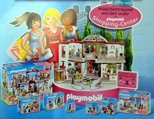 54855491 shoppingcenter komplett set von playmobil neu