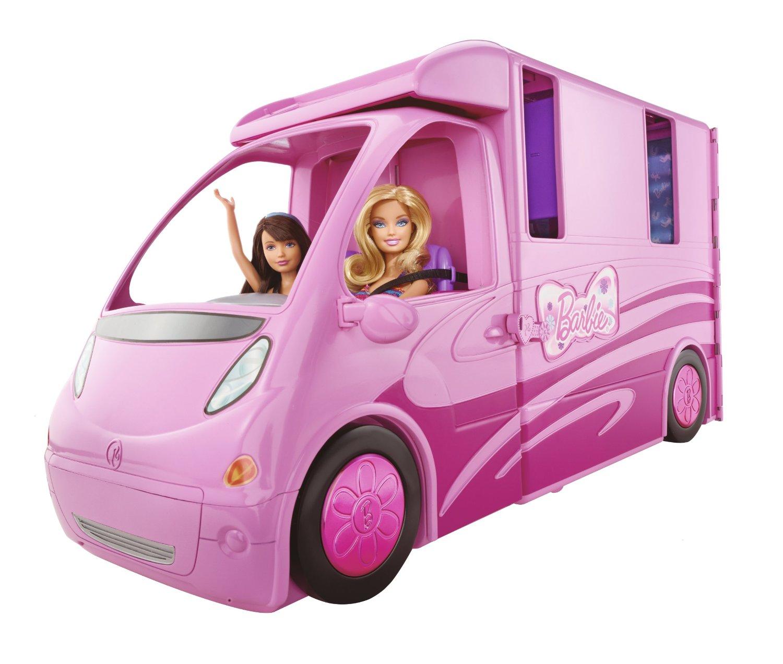 Barbie Ihre Schwestern Im Pferdegl Ck Deluxe Pferde Und Wohnmobil Neu