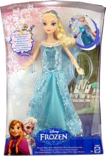 Elsa Frozen Musica Mattel Regina La Y9967 Magica Bambola Disney QCxtdhsr