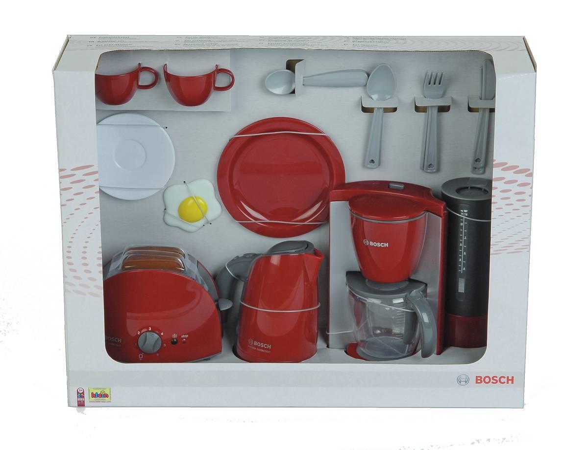 Bosch Kinder Küchenset Frühstücksset groß von Theo Klein NEU